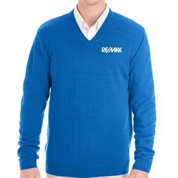 Harriton® Men's Pilbloc™ V-Neck Sweater - Personalization Available