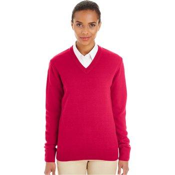 Harriton Ladies' Pilbloc™ V-Neck Sweater
