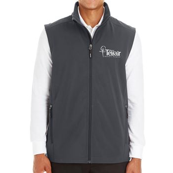 Ash City Core 365® Men's Cruise Two-Layer Fleece Bonded Soft-Shell Vest - Personalization Available