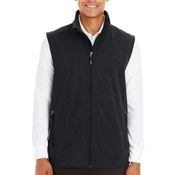 Ash City-Core 365 Men's Cruise Two-Layer Fleece Bonded Soft Shell Vest