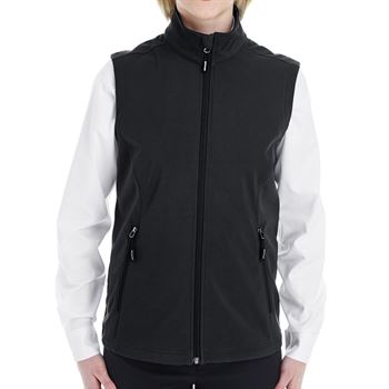 Ash City-Core 365 Ladies' Cruise Two-Layer Fleece Bonded Soft Shell Vest