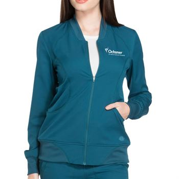 Dickies® Women's Zip-Front Warm-Up Jacket - Personalization Available