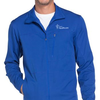 Men's Zip Front Warm-Up Jacket