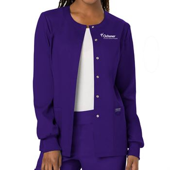 Cherokee® Women's Snap Front Warm-Up Jacket - Personalization Available