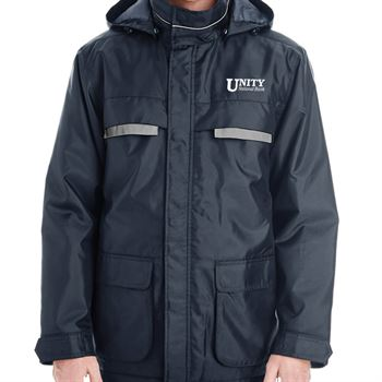 Harriton® Unisex Axle Insulated Cargo Jacket - Personalization Available