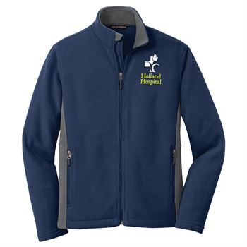 Port Authority® Men's Colorblock Value Fleece Jacket - Embroidery Personalization Available