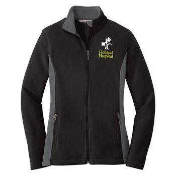 Port Authority® Women's Colorblock Value Fleece Jacket - Personalization Available