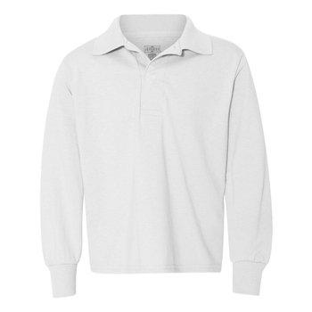 Jerzees-Spotshield™ Youth Long Sleeve Sport Shirt