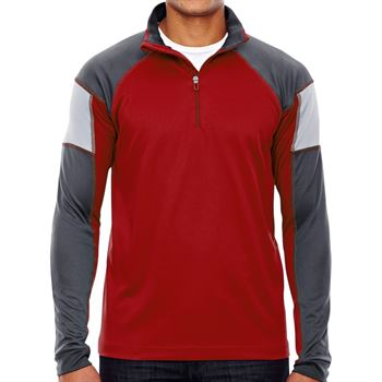 North End® Quick Performance Men's Interlock Quarter-Zip - Personalization Available