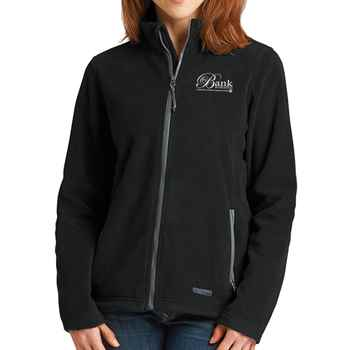 Charles River Apparel® Women's Boundary Fleece Jacket - Embroidery Personalization Available