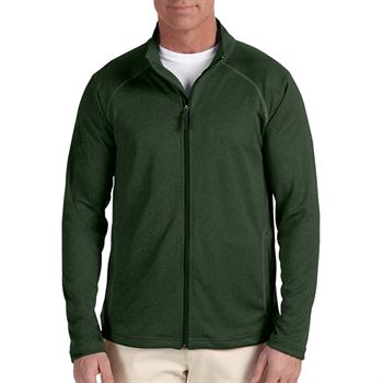 Devon & Jones® Stretch Tech-Shell Men's Compass Full-Zip - Personalization Available