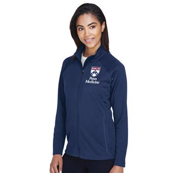 Devon & Jones® Women's Stretch Tech-Shell Compass Full-Zip - Personalization Available