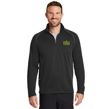 Eddie Bauer® Men's Half-Zip Base Layer Fleece - Personalization Available