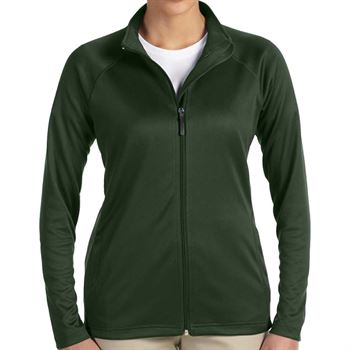 Devon & Jones® Stretch Tech-Shell Women's Compass Full-Zip - Personalization Available