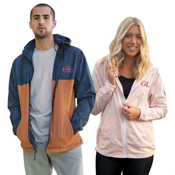 Independent Trading Co.� Unisex Lightweight Windbreaker Jacket - Embroidery Personalization Available