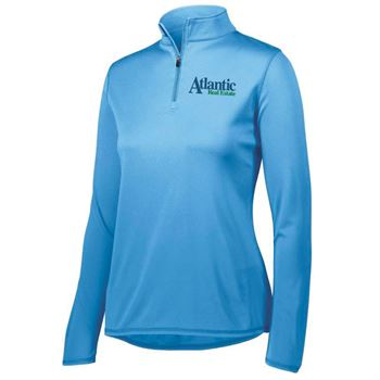 Augusta® Women's Attain Quarter-Zip Pullover - Personalization Available