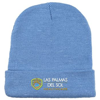 Long Knit Beanie - Personalization Available