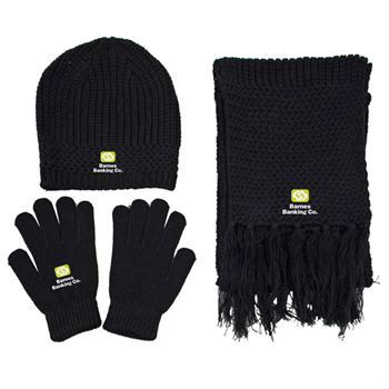 Knitted Winter Set - Personalization Available