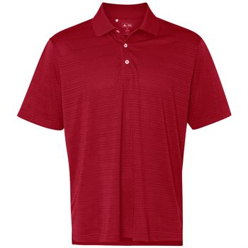 Adidas® Men's Golf Climalite® Textured Short-Sleeve Polo - Personalization Available