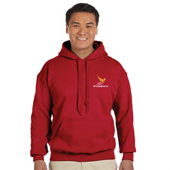 Gildan® Adult Heavy Blend™ 50/50 Hooded Sweatshirt - Embroidery Personalization Available