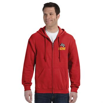 Gildan® Heavy Blend™ Men's Full-Zip Hooded Sweatshirt - Embroidery Personalization Available