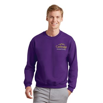 Gildan® Adult Heavy Blend™ Fleece Crewneck Sweatshirt - Embroidery Personalization Available