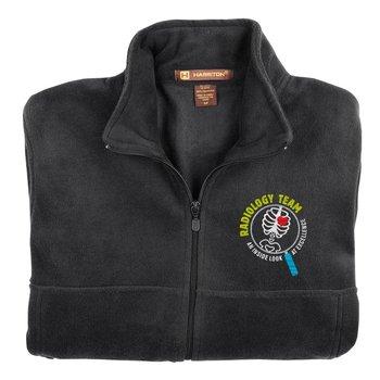 Radiology Team: An Inside Look At Excellence Harriton® Men's Full-Zip Fleece Jacket - Personalization Optional