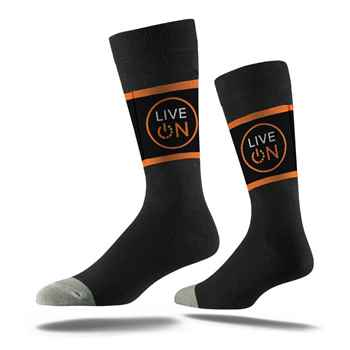 Classic Business Dress Sock - Personalization Available