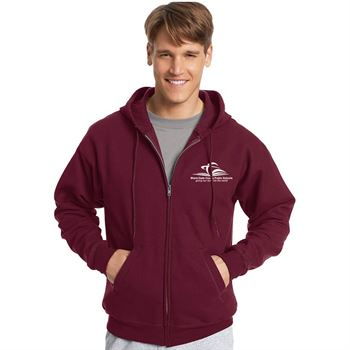 Hanes® Ecosmart Adult Full-Zip Hooded Sweatshirt - Personalization Available