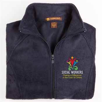 Social Workers: Making A Difference In The Lives Of Others Harriton® Women's Full-Zip Fleece Jacket - Personalization Available
