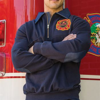 Game® The FIrefighter's Work Shirt - Personalization Available