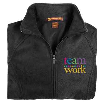 Teamwork Harriton® Women's Fleece Full-Zip Jacket