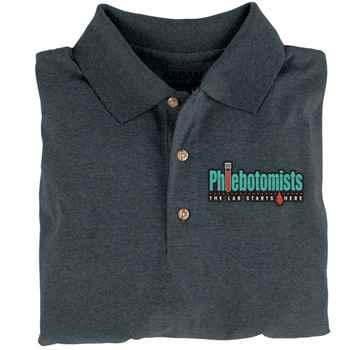 Phlebotomists: The Lab Starts Here Gildan® DryBlend Jersey Polo - Personalization Available