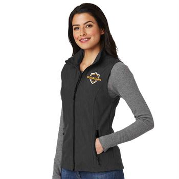 Port Authority® Women's Core Soft Shell Vest - Personalization Available