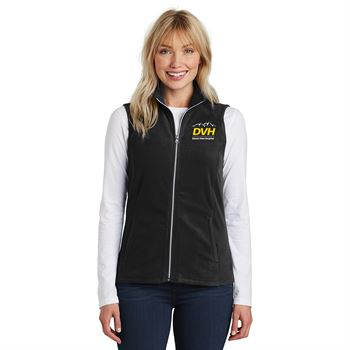 Port Authority® Ladies Full-Zip Microfleece Vest - Personalization Available