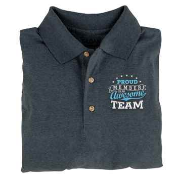 Proud Member Of An Awesome Team Gildan® Dryblend Jersey Polo - Personalization Available