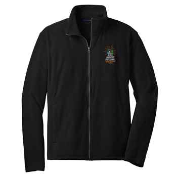 Medical Laboratory Professionals: Behind The Scenes Heroes Port Authority® Full-Zip Microfleece Jacket - Personalization Available