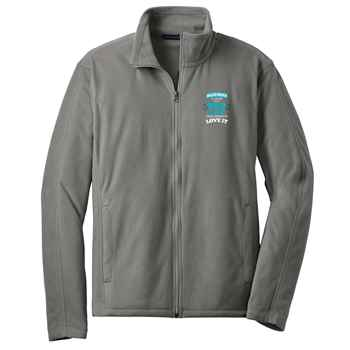 Skilled Enough To Work In A Lab, Crazy Enough To Love It Port Authority® Full-Zip Microfleece Jacket - Personalization Available
