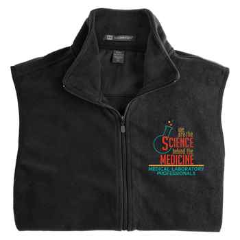 We Are The Science Behind The Medicine Harriton® Full-Zip Fleece Vest - Personalization Available