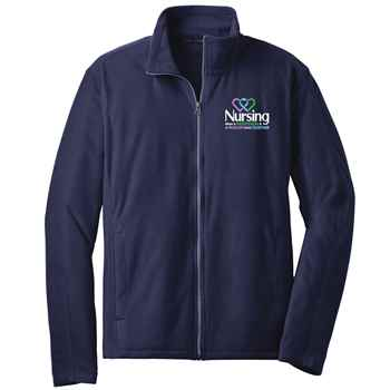 Nursing: When A Profession & A Passion Come Together Port Authority® Full-Zip Microfleece Jacket - Personalization Available