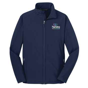 Nursing: When A Profession & A Passion Come Together Port Authority® Core Soft Shell Jacket - Personalization Available