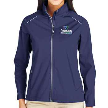 Nursing: When A Profession & A Passion Come Together Core 365® Three-Layer Knit Full-Zip Jacket - Personalization Available