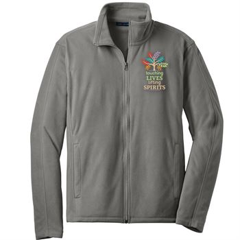 Touching Lives, Lifting Spirits Port Authority® Full-Zip Microfleece Jacket - Personalization Available