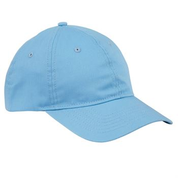 Big Accessories 6-Panel Twill Unstructured Cap - Personalization Available