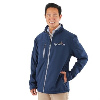 Clique® by Cutter & Buck® Men's Telemark Soft Shell Jacket - Personalization Available