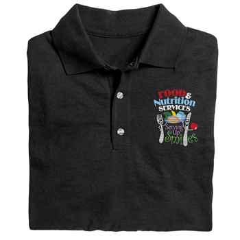 Food & Nutrition Services: Serving Up Smiles Gildan® DryBlend Jersey Polo