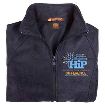Health Information Professionals Harriton® Women's Fleece Full-Zip Jacket - Personalization Available