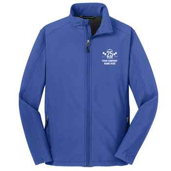 25th Anniversary Port Authority® Men's Core Soft Shell Jacket - Personalization Available