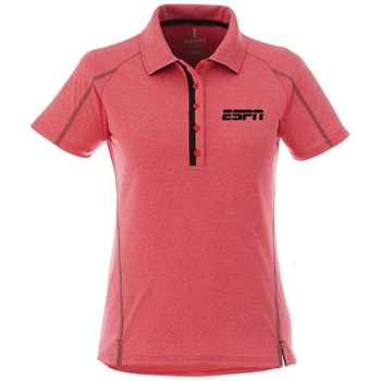 Elevate® Women's Macta Short Sleeve Polo Shirt - Embroidery Personalization Available