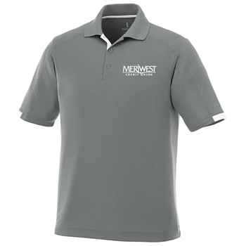 Elevate® Men's Kiso Short-Sleeve Polo Shirt - Embroidery Personalization Available